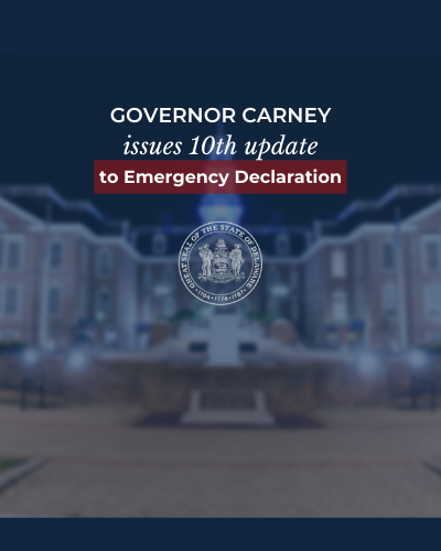 Image: Governor Carney Issues Updated State of Emergency; Bans Short-Term Rentals