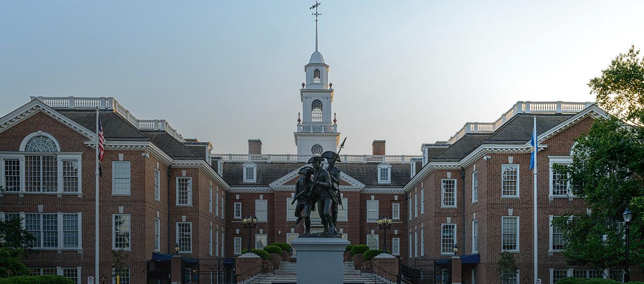 Picture of Legislative Hall in Dover, Delaware
