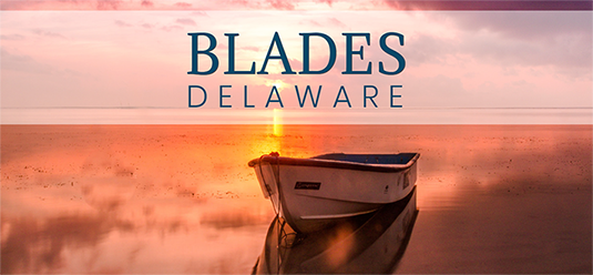 A picture of the of Town of Blades, Delaware's website