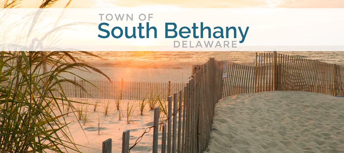 A picture of South Bethany, Delaware's Beach and website