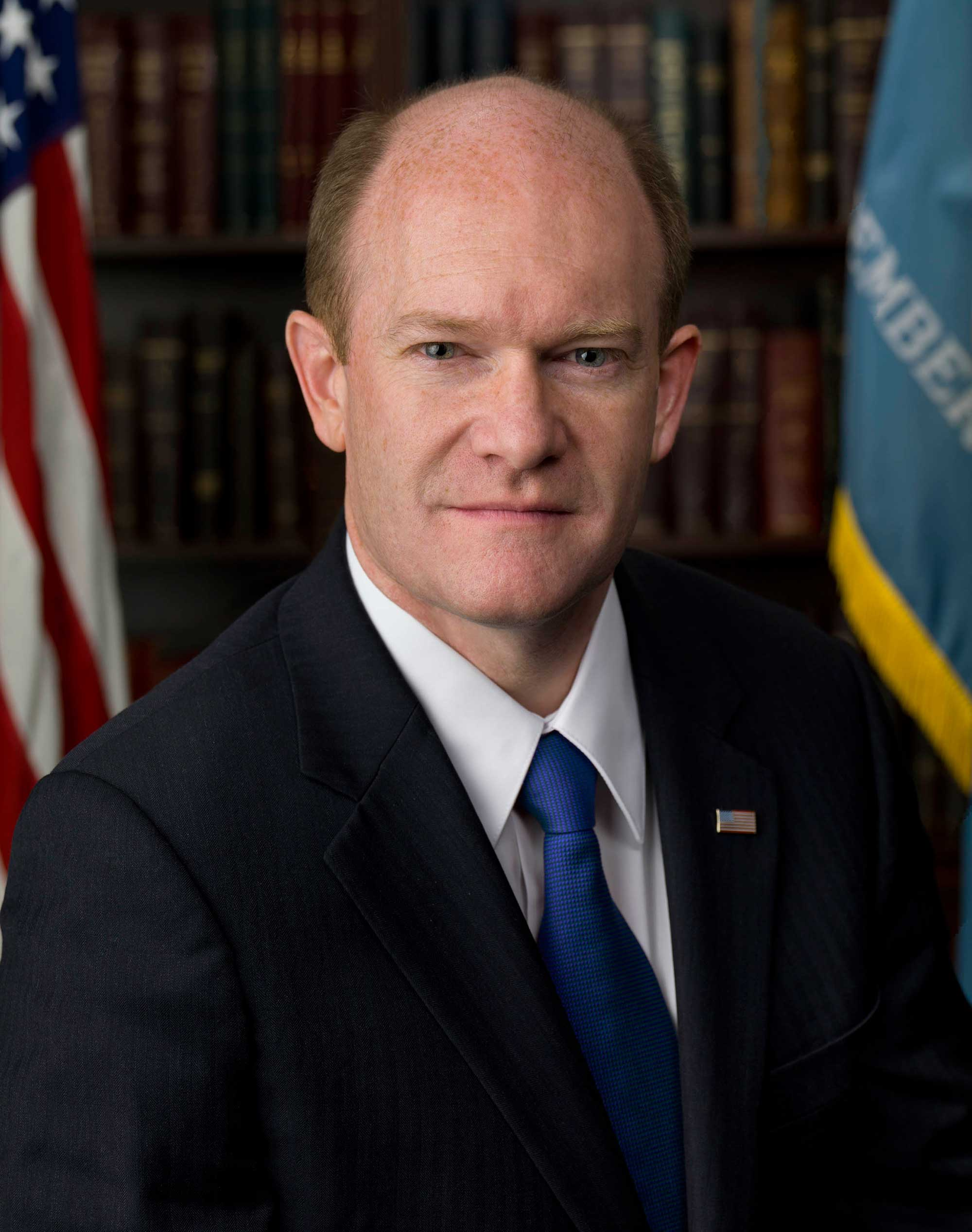 Image of Delaware's U.S. Senator Chris Coons